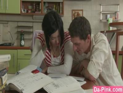 สาวเอาเชียมาติวหนังสือ เจอบทเรียนรัก แบบจัดหนัก หนังเอ็กใหม่ล่าสุด